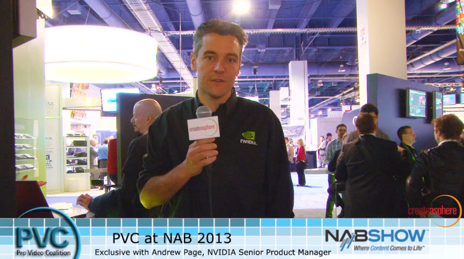 See What NVIDIA Had to Show Off at NAB 2013 1
