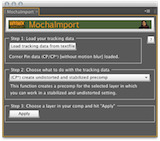 After Effects Script of the Week: MochaImport 1