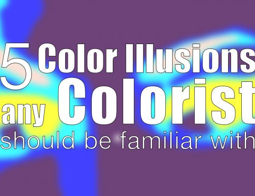 5 Color Illusions that Colorists & filmmakers should be familiar with 3