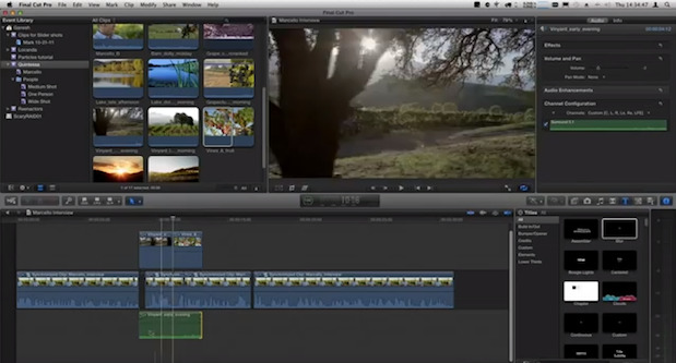 3-Point Editing in Final Cut Pro X 1