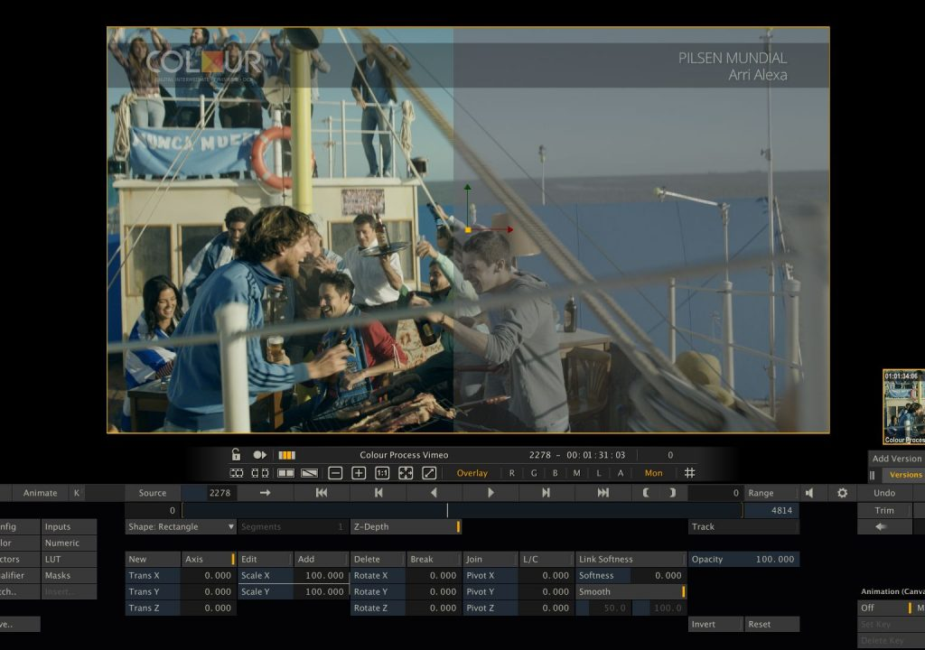 Colour Studio Uruguay Shoots and Scores in Post Production 13