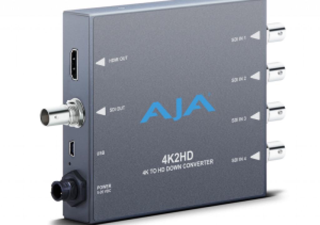 AJA Releases New Mini-Converters at 2013 IBC 3
