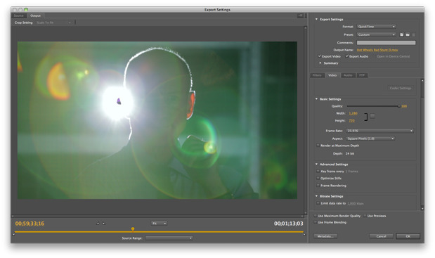 Adobe Media Encoder - another hidden gem? 5