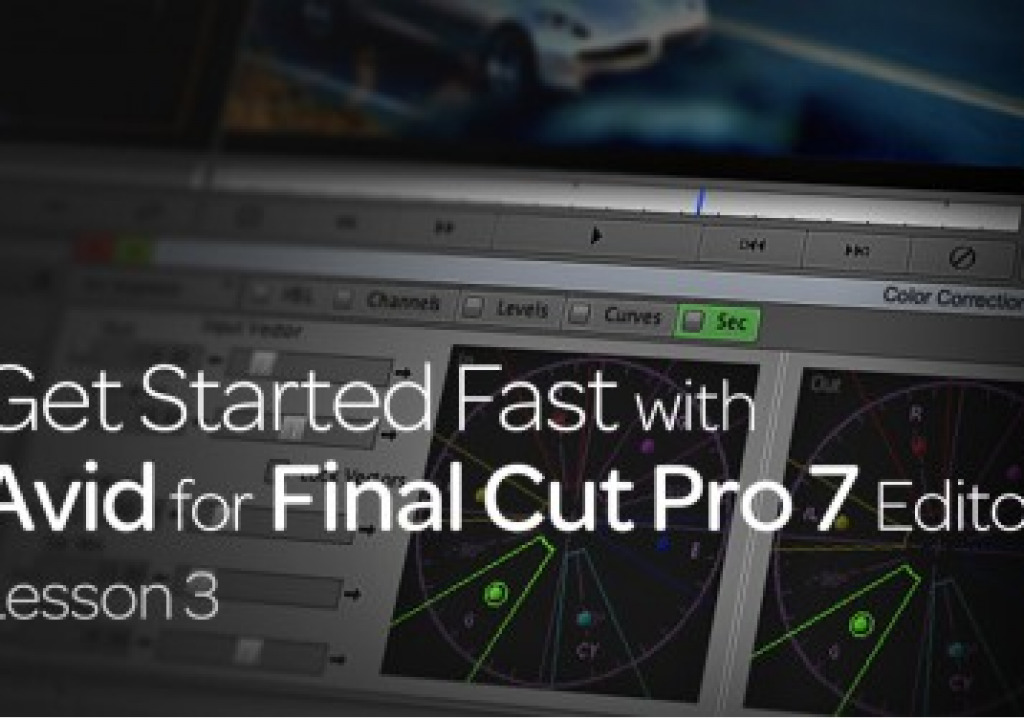 Get Started Fast with Avid for Final Cut Pro 7 Editors : Lesson 3 1