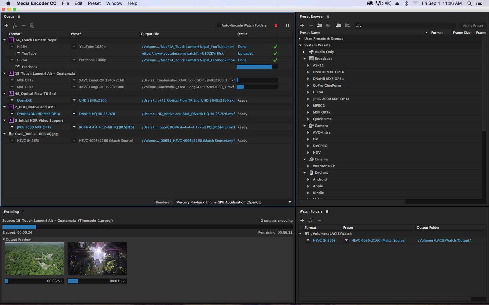 New Features Coming to Adobe Media Encoder 1