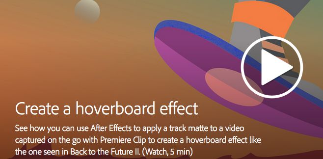 Back to the Future: Creating Your Own Hoverboard Effect 4