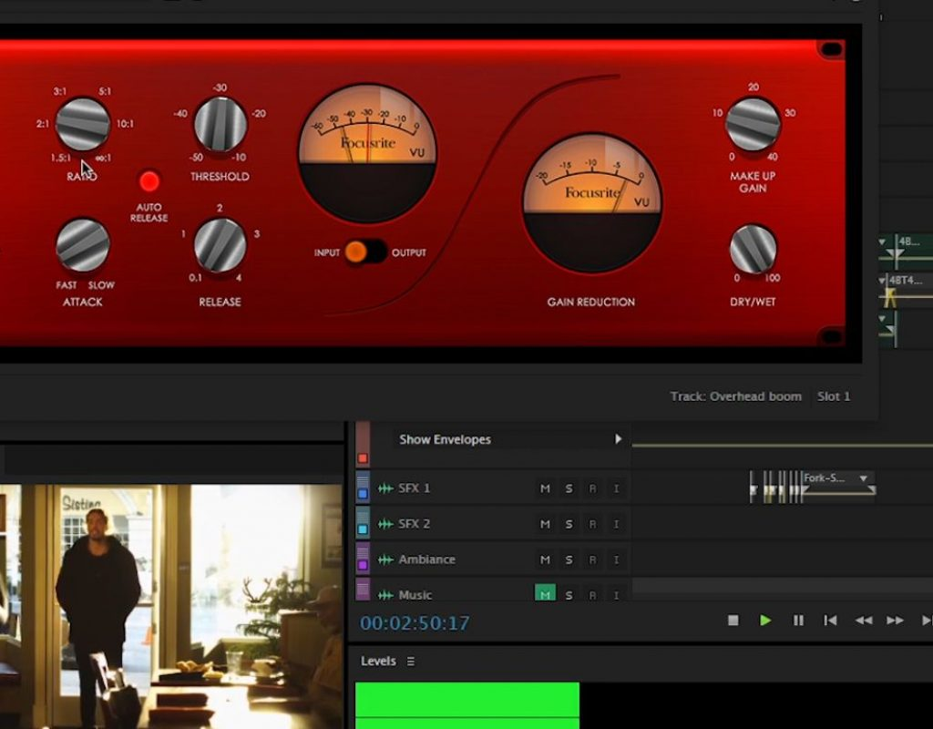 Compression: the editor's secret weapon for taming audio 1