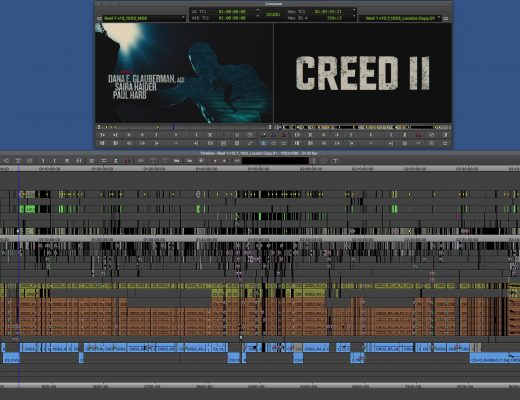 "ART OF THE CUT with the editing team of ""Creed II"" 11"