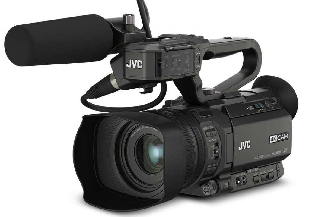 JVC Demonstrates New 4KCAM Camcorders at NAB 2015 1