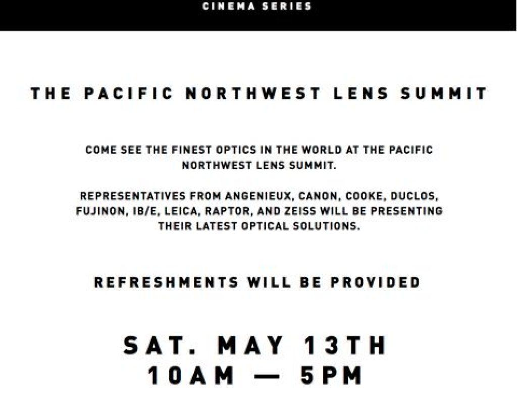 Koerner Lens Summit info