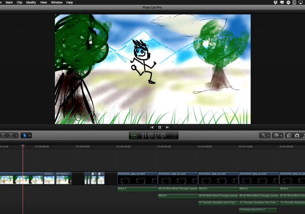 Animation pre-visualization with mBehaviors 1