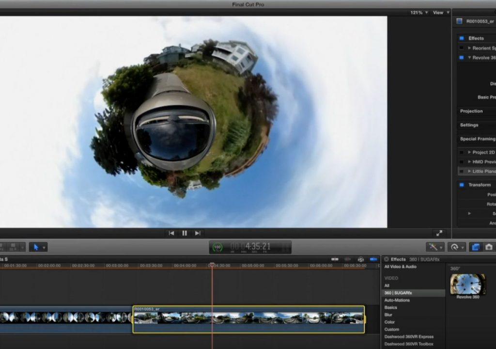 360VR in Final Cut Pro X Part 2 1