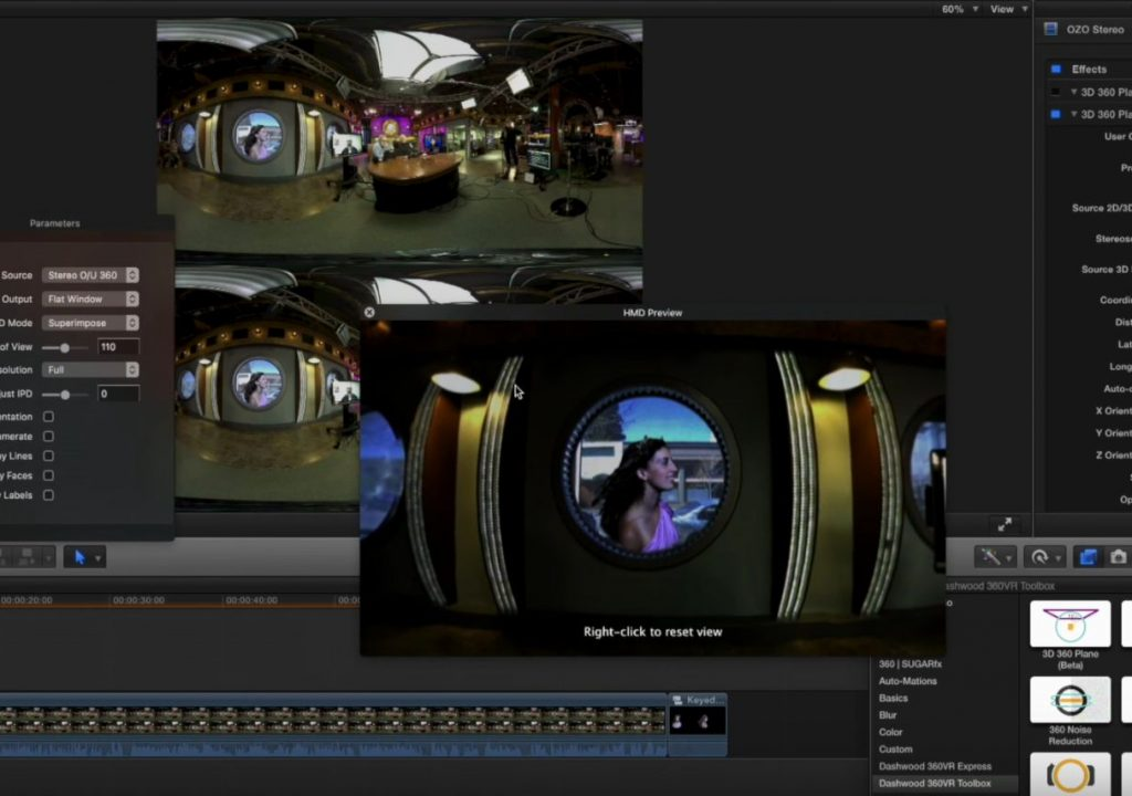 360VR compositing in Final Cut Pro X 1