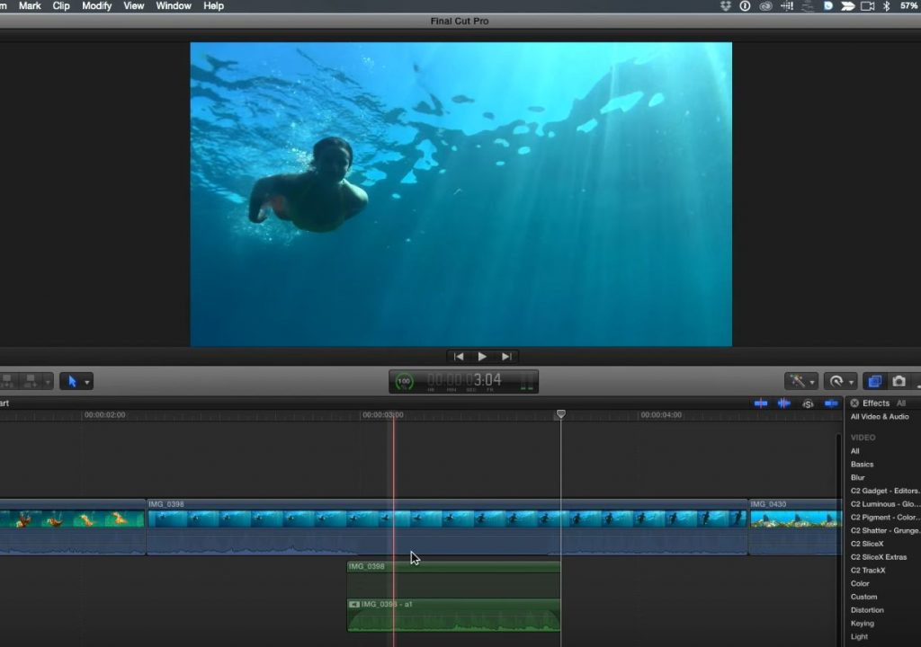Selective Audio Filtering in Final Cut Pro X 1