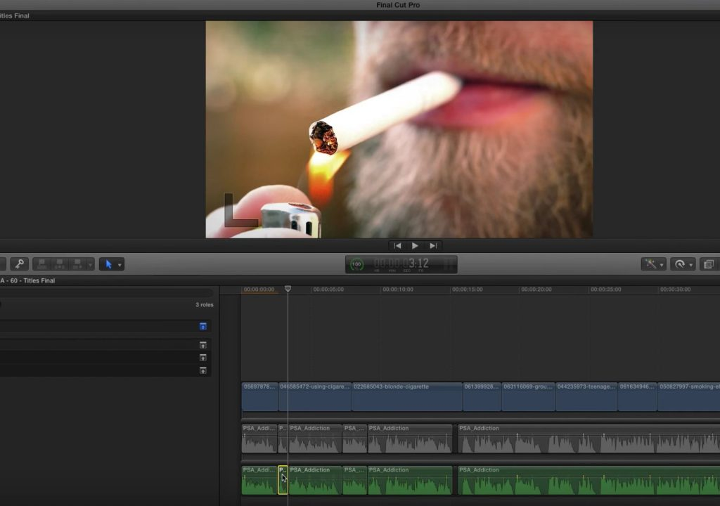 Creating alternate edits with roles in Final Cut Pro X 1