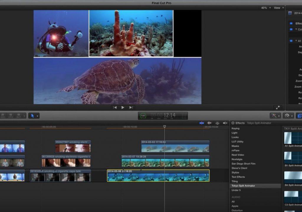 Tokyo Split Animator for Final Cut Pro X 1
