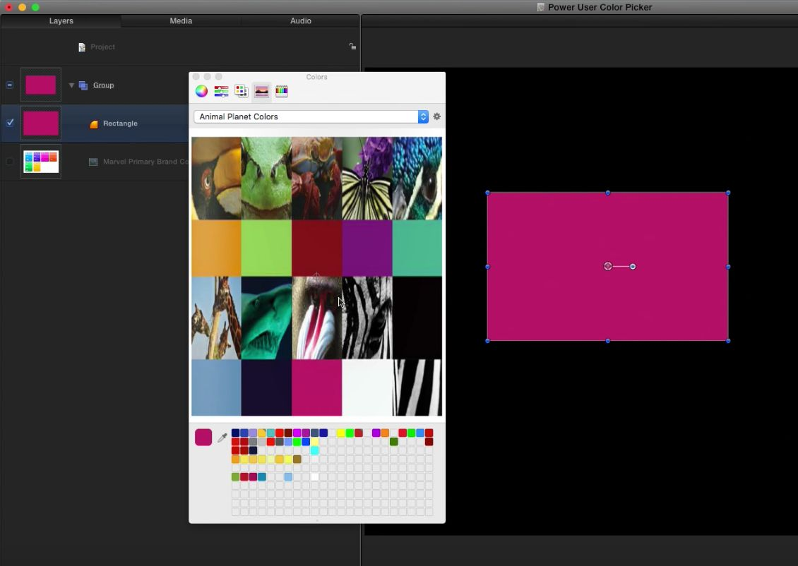 Creating custom color palettes 8