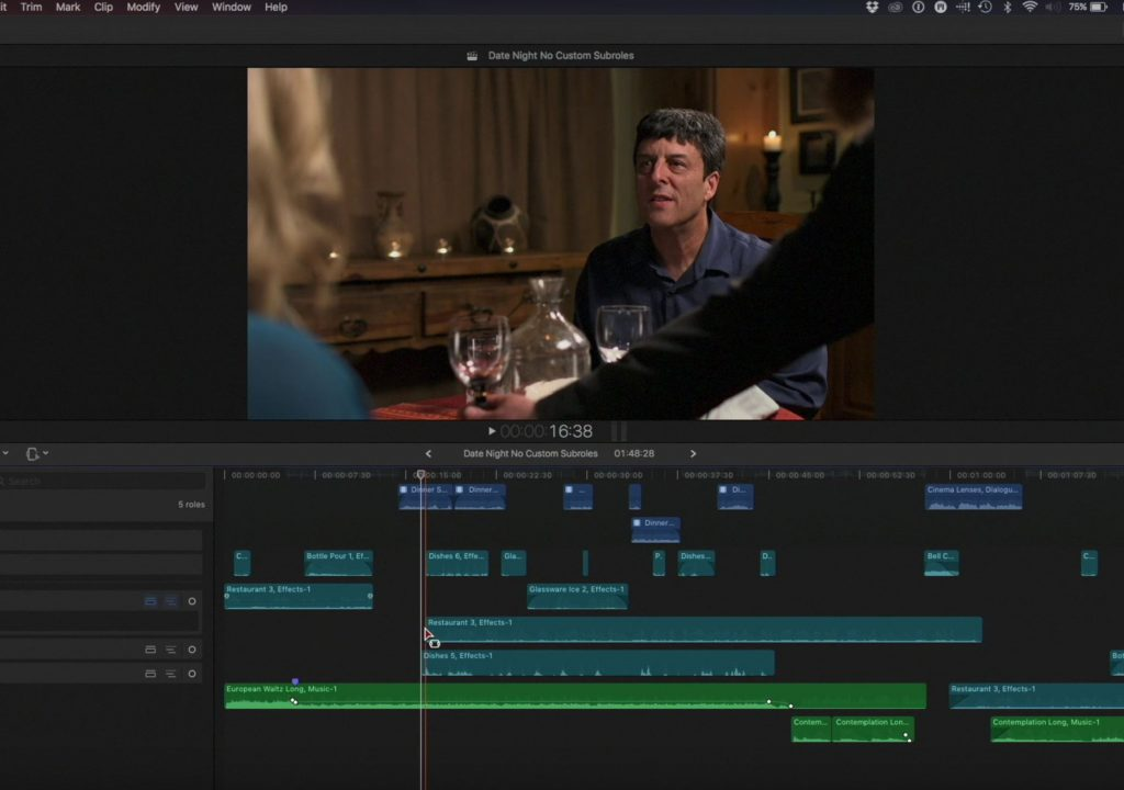 Delete Selection Only in Final Cut Pro X 2