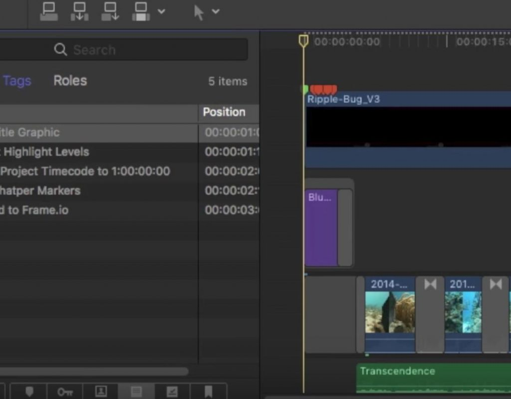Making To-Do Lists in Final Cut Pro X 1
