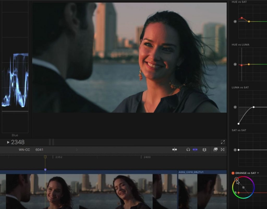 Creating Color Contrast Looks in Final Cut Pro X 1