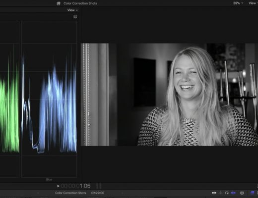 Creating Custom Black & White Effects in Final Cut Pro X 11