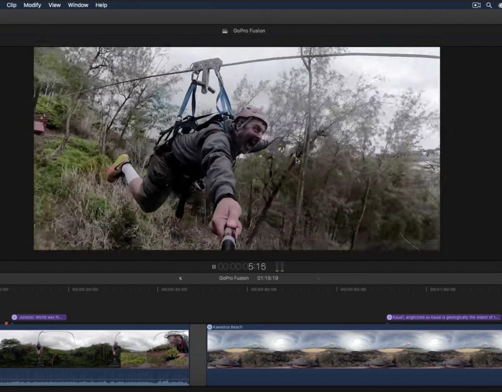 GoPro Fusion & Final Cut Pro X 1