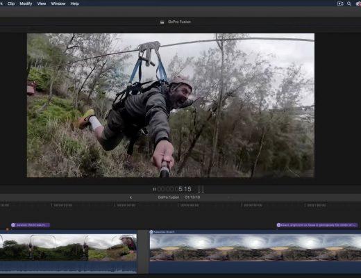 GoPro Fusion & Final Cut Pro X 8