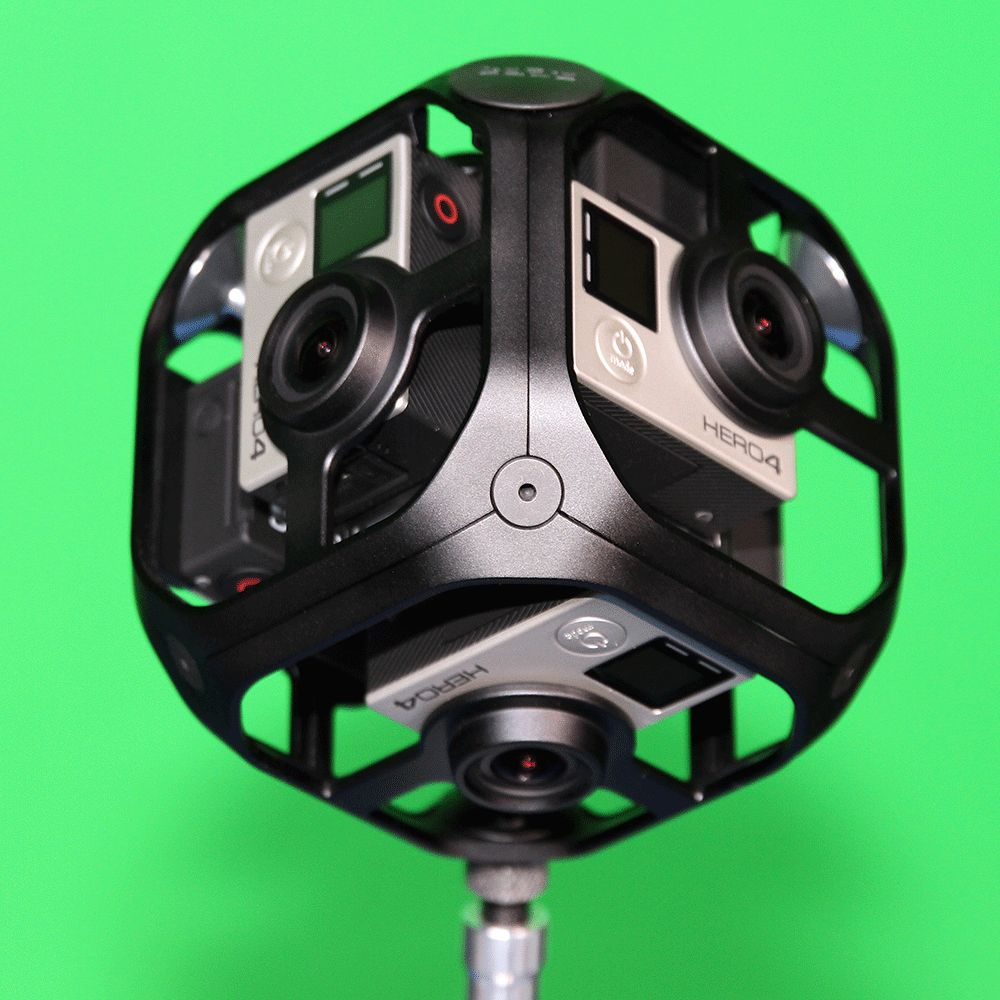 GoPro OMNI 360 rig – VR capture made easy! 1