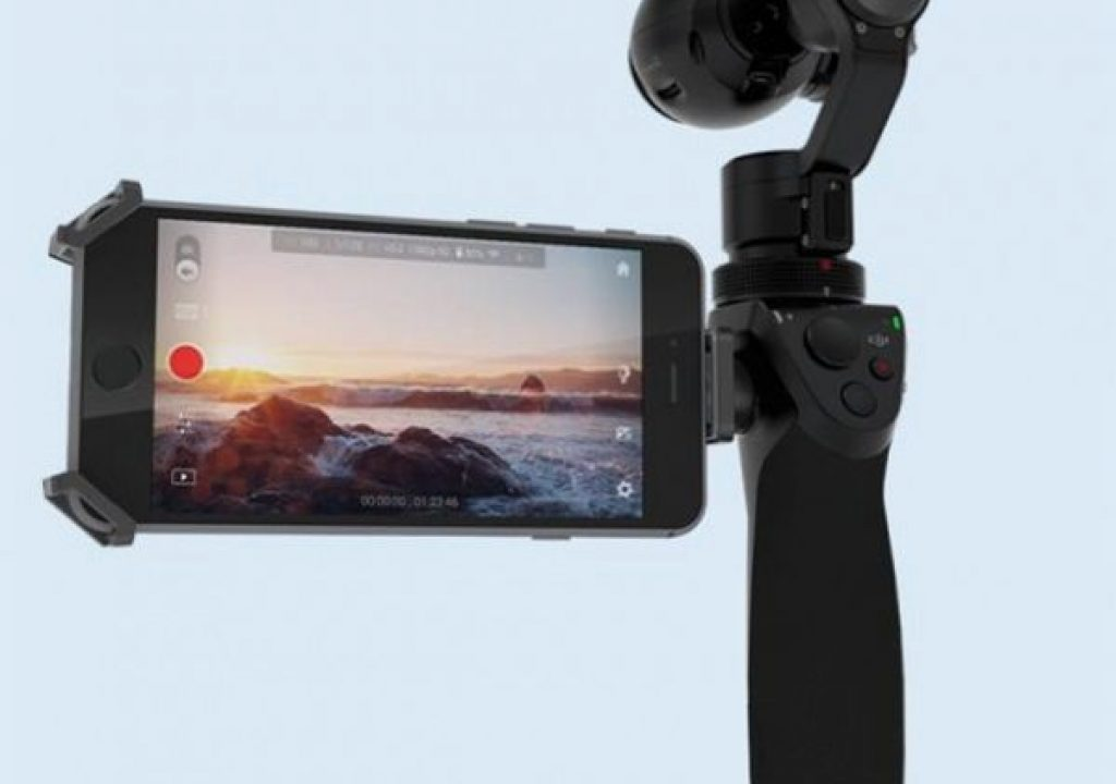 First Look: DJI's OSMO 4K Handheld Gimbal Stabilized Camera 1
