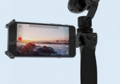 First Look: DJI's OSMO 4K Handheld Gimbal Stabilized Camera