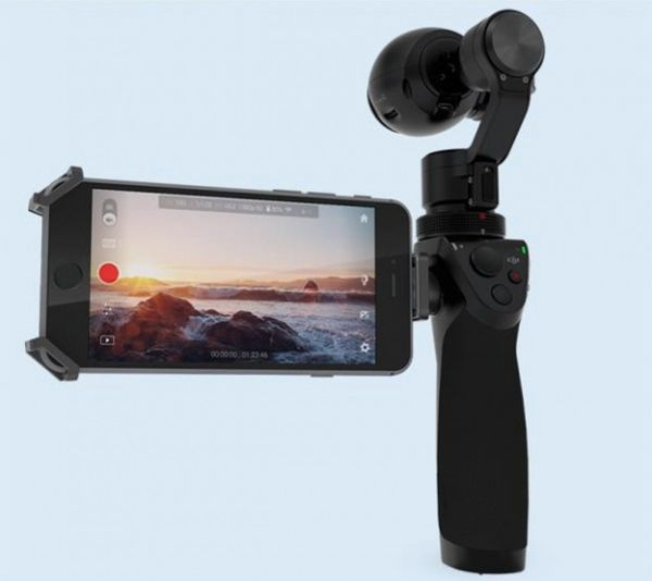 First Look: DJI's OSMO 4K Handheld Gimbal Stabilized Camera 3