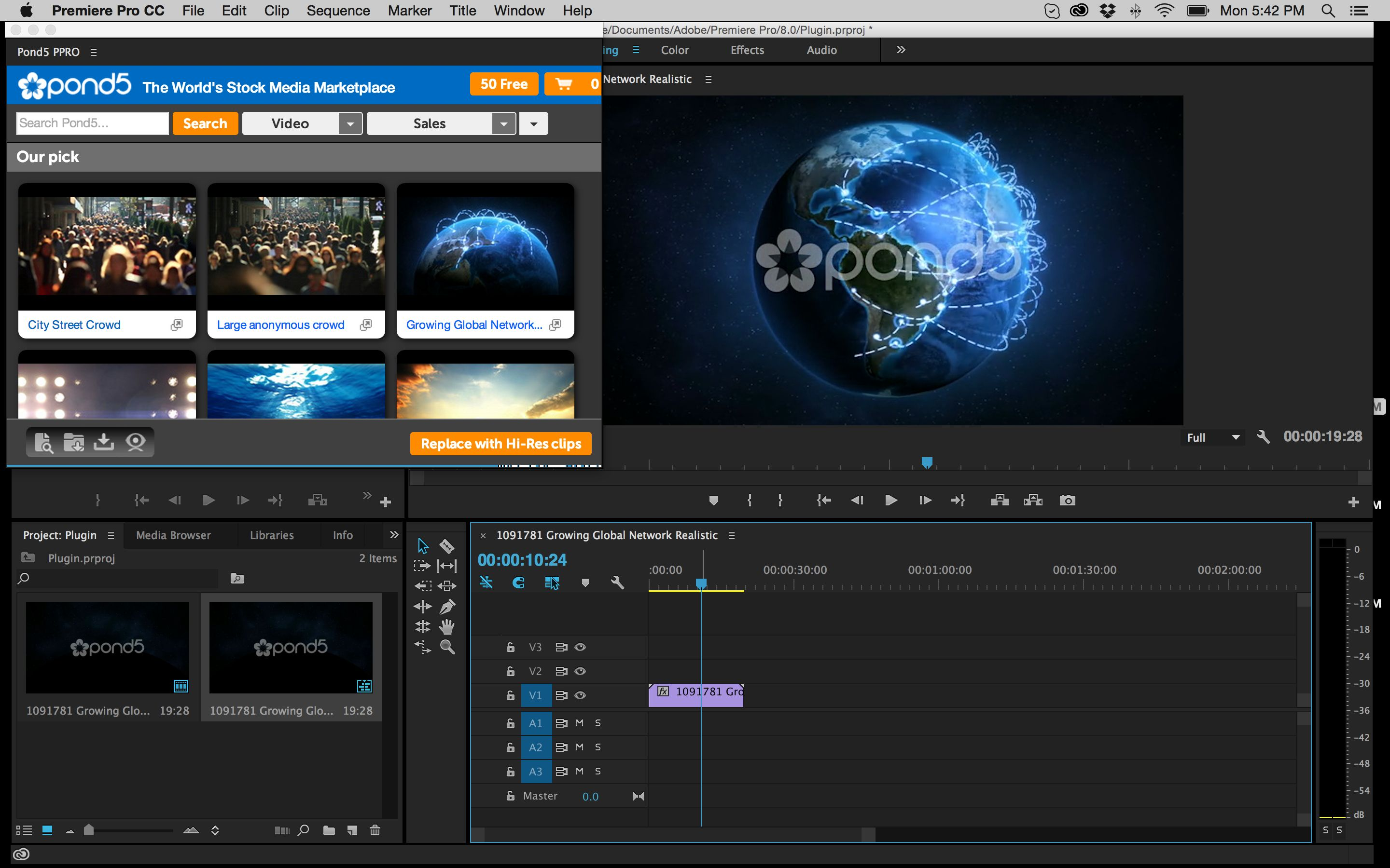 Explore the Details Around the New Stock Plugin for Premiere Pro from Pond5 8