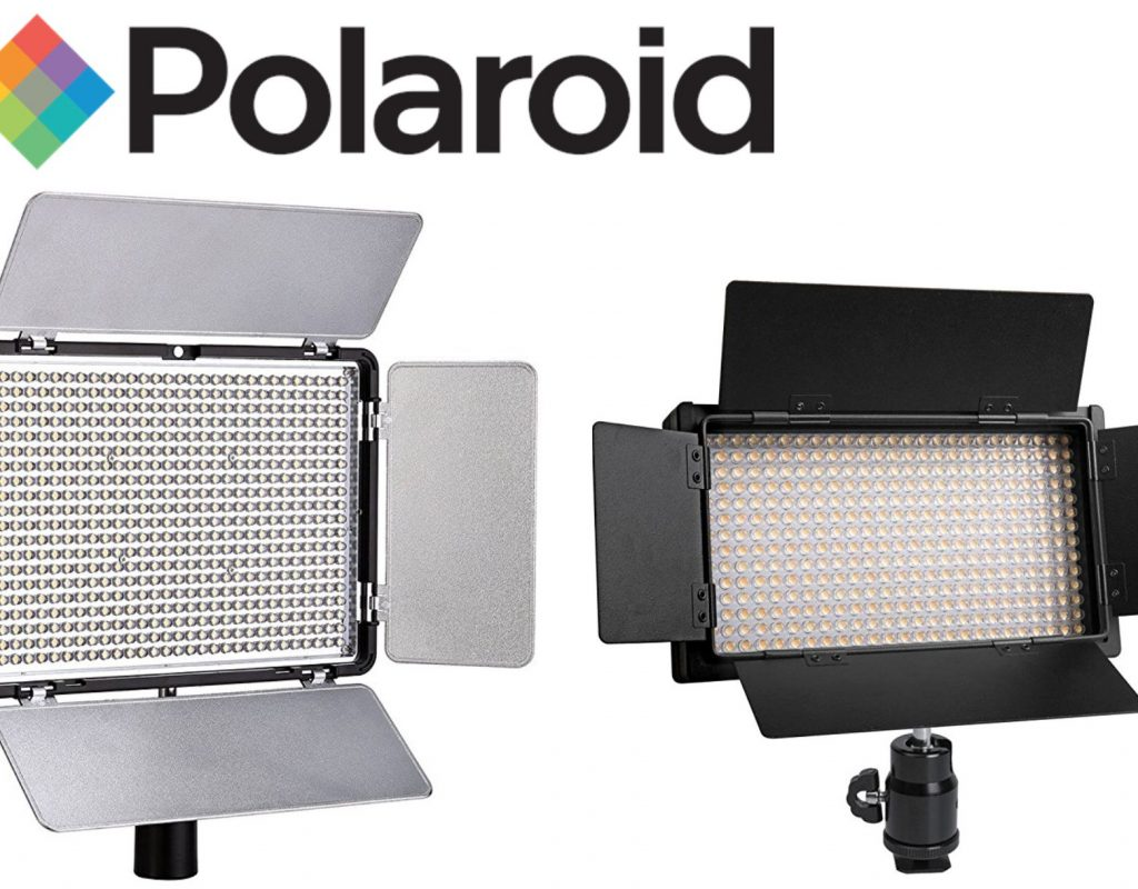 Product Review: Polaroid small portable LED production light panels 3