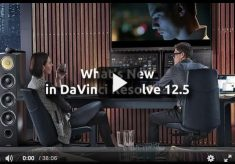 What's New in Blackmagic Design's DaVinci Resolve 12.5?