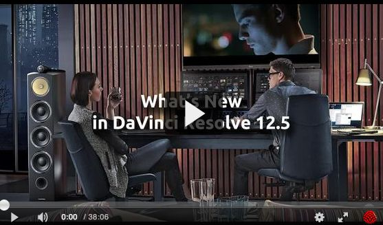 What's New in Blackmagic Design's DaVinci Resolve 12.5? 22