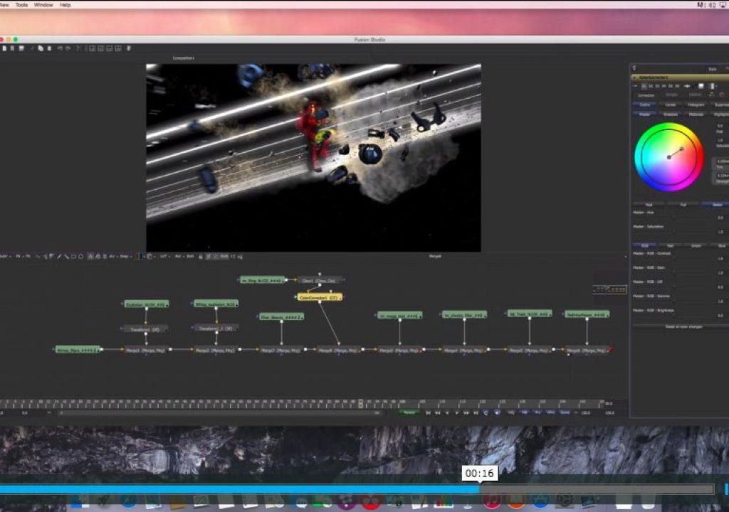 Blackmagic's Fusion on a Mac... Soon 1