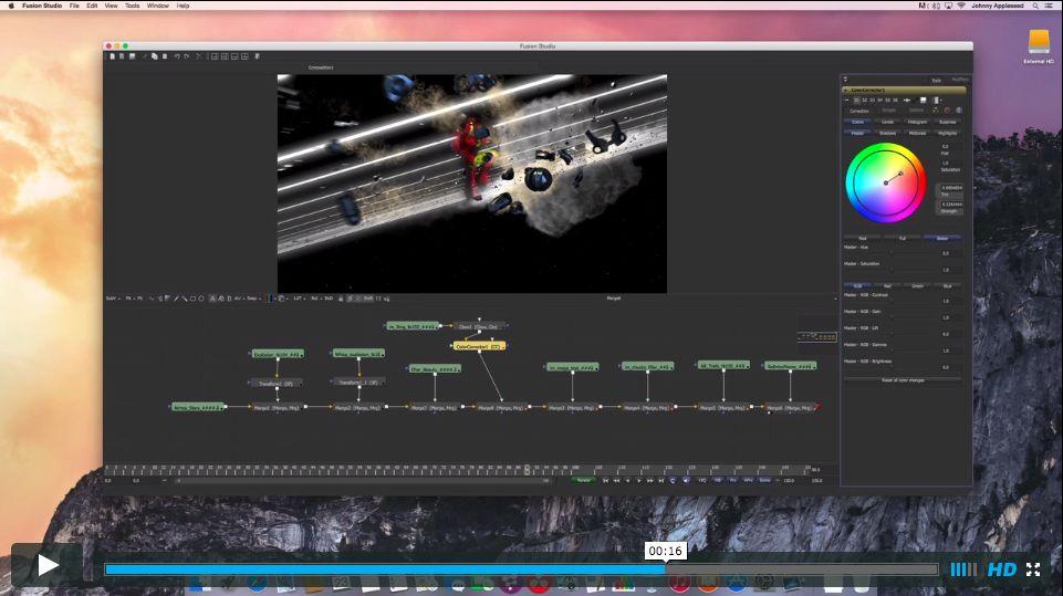 Blackmagic's Fusion on a Mac... Soon 5