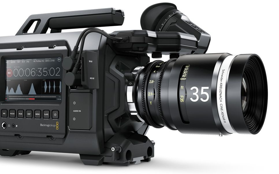 New Viewfinder for the Blackmagic URSA 10