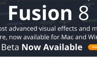 Blackmagic's Fusion 8 for Mac in Beta