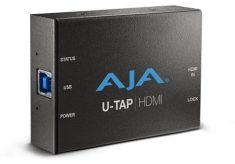 NAB 2016: AJA introduces U-TAP