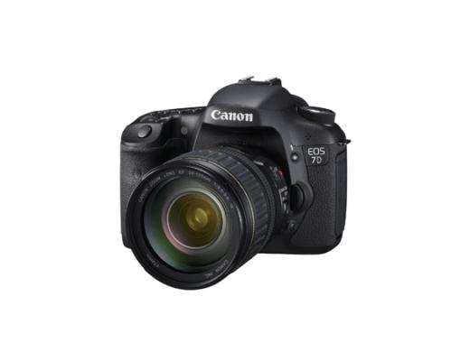 Canon releases 7D DSLR HD Camera 3
