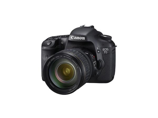 Canon releases 7D DSLR HD Camera 1