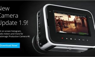"""Blackmagic Production Camera Gets A New """"Heads Up Display"""""""