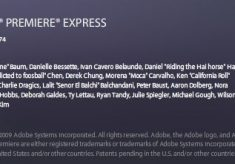 Remember Adobe Premiere Express?