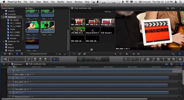 Multi-cam Editing in Final Cut Pro X: Sync 1