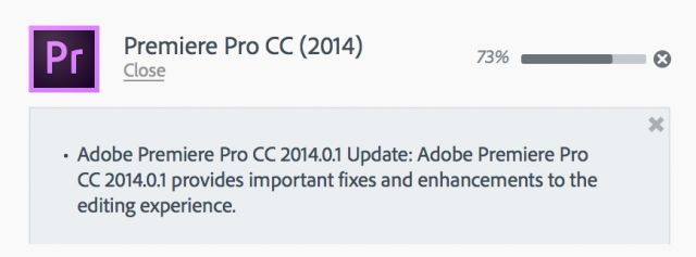 Adobe Premiere Pro CC 2014.0.1 - the biggest little update you'll see today 27