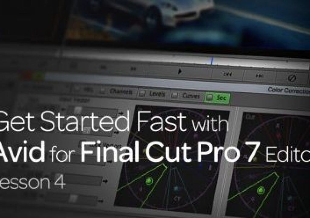 Get Started Fast with Avid for Final Cut Pro 7 Editors : Lesson 4 1