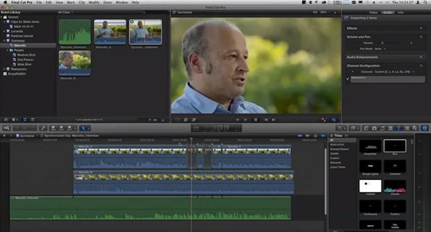Multi-cam Editing in Final Cut Pro X? 1