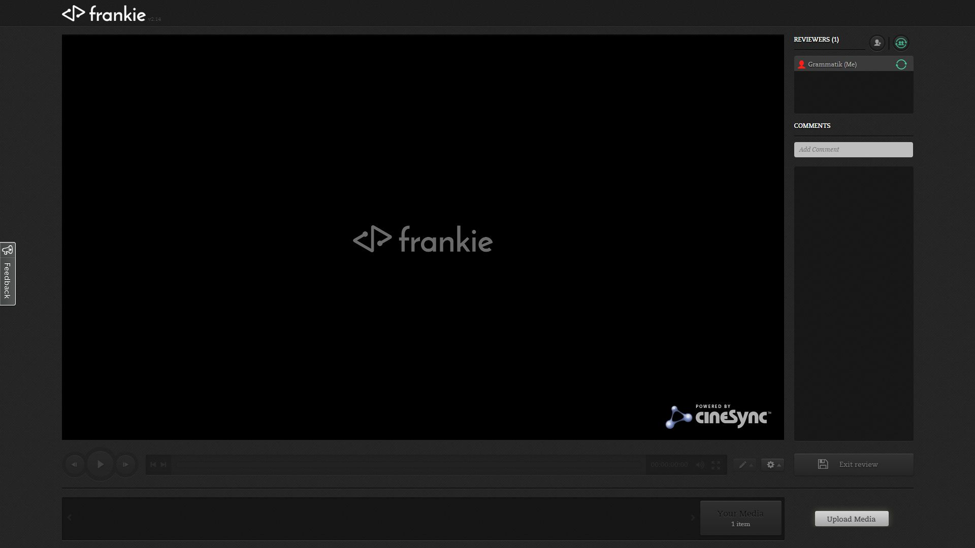 Frankie Makes Content Sharing and Client Review Simple and Easy 1