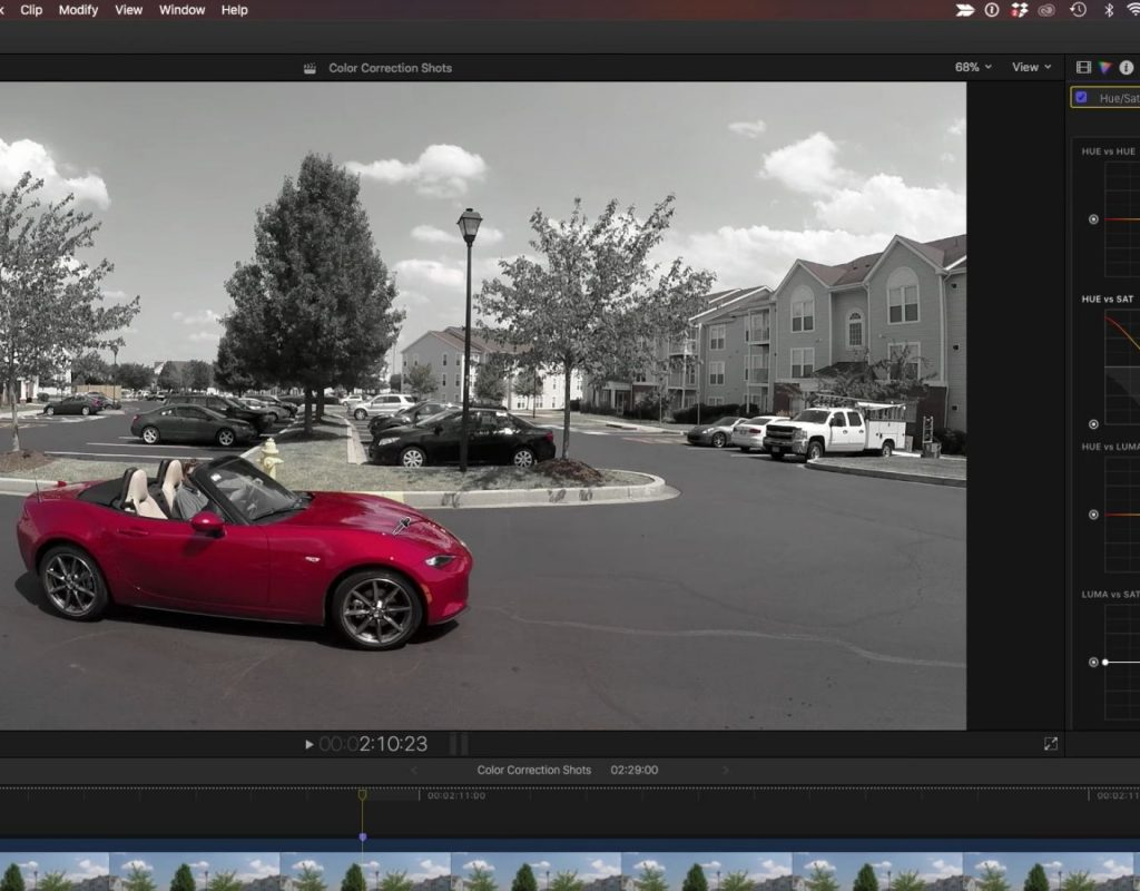 Creating the Pleasantville Look in Final Cut Pro X 1